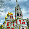 Russian Orthodox Church, Shipchenski Monastery Of St Nicholas by Steve Estvanik