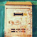 Rusted Mailbox by Silvia Ganora