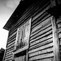 Rustic Barn In Bw by Doug Camara