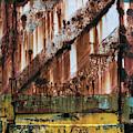 Rusty Crane by Dave Bowman
