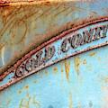 Rusty Gold Comet Emblem by Kristia Adams