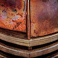 Rusty Old Dodge Truck Grill by Teri Virbickis
