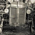 Rusty Old Ford Vintage Farm Tractor by Edward Fielding