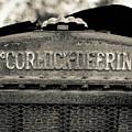 Rusty Old Mccormick-deering Tractor by Edward Fielding