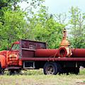 Rusty Old Work Truck by Cynthia Guinn