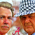 Saban And Bear by Mark Spears