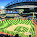 Safeco Field Seattle Mariners Baseball Ballpark Stadium by Christopher Arndt