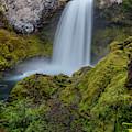 Sahalie Falls, Autumn by Matthew Irvin