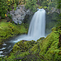 Sahalie Falls, Summer by Matthew Irvin