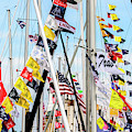 Sailboat Flags by Randy J Heath