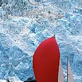Sailboat Prince William Sound Alaska by Laughingmango