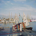 Sailing Dinghy by Slim Aarons