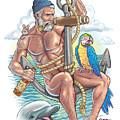 Sailor On Anchor by Gabriel Gatton