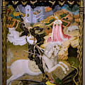 Saint George And The Dragon by Peter Barritt