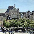 Saint Germain L Auxerrois Paris By Claude Monet 1867 by Claude Monet