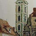 Saint Jost Church by Jenny Armitage
