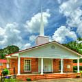 Saint Paul Baptist Church Woodville Georgia Religious Art by Reid Callaway