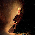 Saint Peter In Prison  by Rembrandt