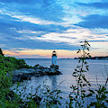 Salem Ma Pickering Light Winter Island Sunrise by Toby McGuire