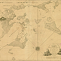 Salem, Marblehead, Beverly, Manchester by Historic Map Works Llc