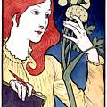 Salon Des Cent E Grasset Vintage French Advertising by Vintage French Advertising