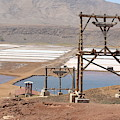 Salt Pans And 200 Yr Old Cable Car Winches by Dave Philp