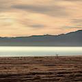 Salton Sea Sunset by Rick Strobaugh