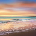 Salty Dreams At Dawn Dreamscape by Debra and Dave Vanderlaan