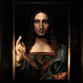 Salvator Mundi After Leonardo Da Vinci by Massimo Tizzano