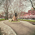 Samuel Eliot Morison Sculpture - Boston by Joann Vitali