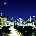 San Antonio Moon by Kathy McCabe