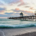 A San Clemente Pier Evening by Brian Eberly