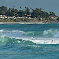 San Clemente Surf by Cliff Wassmann