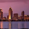 San Diego Panorama by DJ Florek