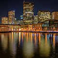 San Francisco At Night by Kristen Wilkinson