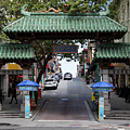 San Francisco Chinatown Dragon Gate R401 by Wingsdomain Art and Photography