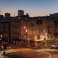 San Francisco IIi Broadway And Van Ness Color by David Gordon