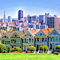 San Francisco Painted Ladies by Christopher Arndt