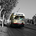 San Francisco - The F Line Car 1072 by Richard Reeve