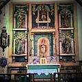 San Gabriel Mission No. 2, High Altar by Danielle Rosaria