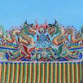San Jao Phut Gong Dragon Roof Dthu0700 by Gerry Gantt
