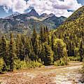 San Juan Mountains Over The Animas River - Silverton Colorado by Gregory Ballos