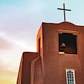 San Miguel Mission Chapel - Santa Fe New Mexico Sunrise by Gregory Ballos