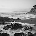 San Simeon Coastal V Bw by David Gordon