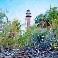 Sanibel Lighthouse by Susan Rydberg