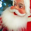 Santa Claus And Bokeh by Keith Smith