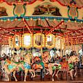 Santa Monica Carousel 3 by Kristia Adams