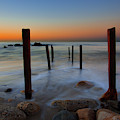 Santa Monica Sunrise by John Rodrigues