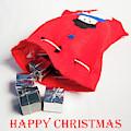 Santa Sack - Happy Christmas by Helen Northcott