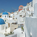 Santorini And Up by Kay Brewer